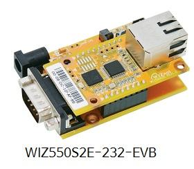 WIZ550S2E-232-EVB-280