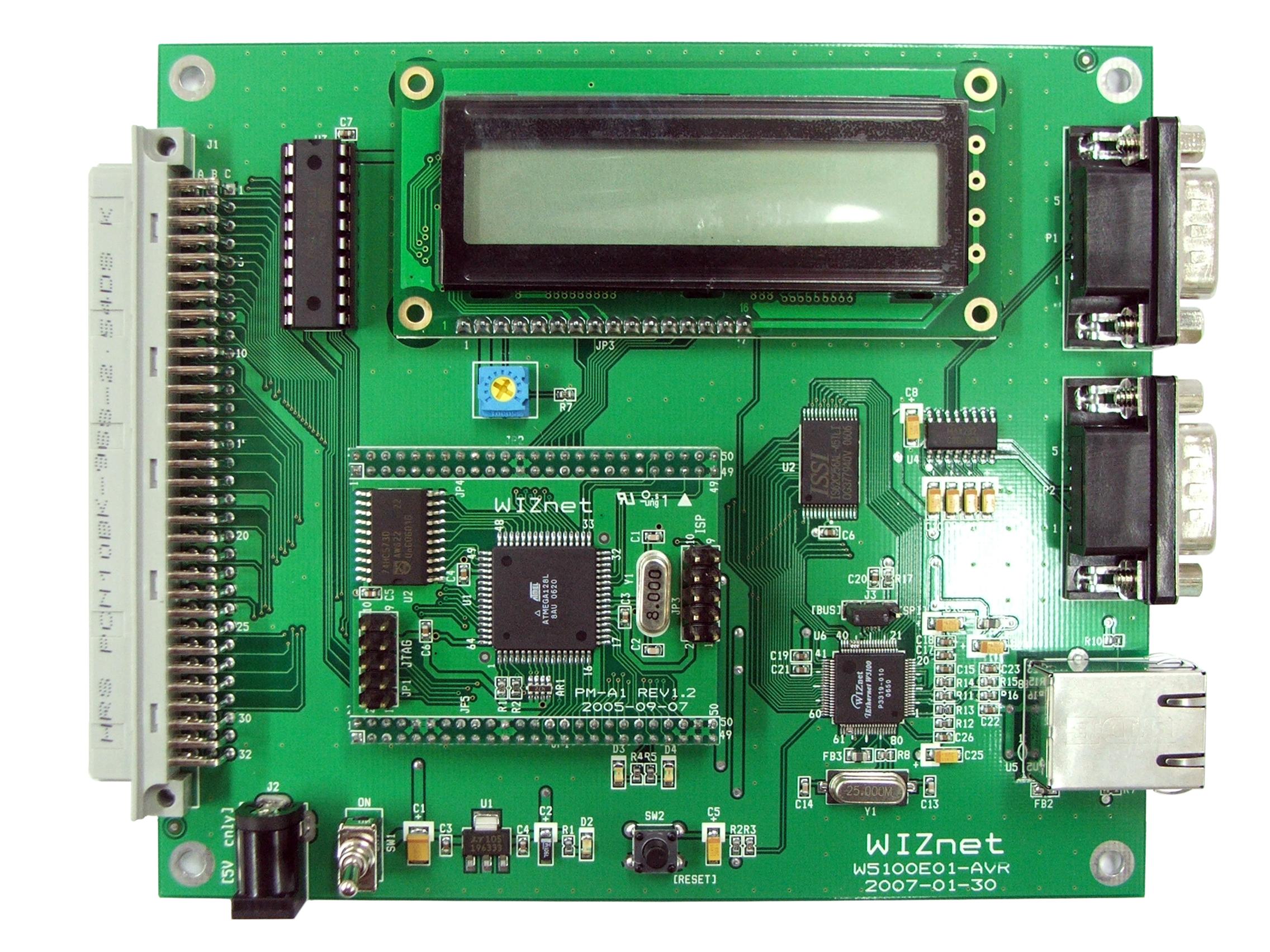 W5100E01-AVR | WIZnet Co , Ltd