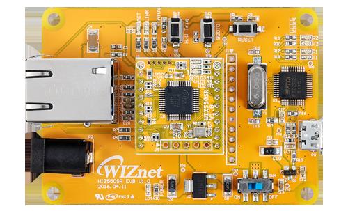 wiz550sr-evb_topview
