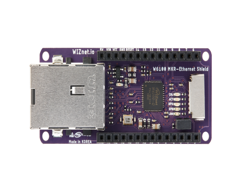 W6100 MKR-Ethernet Shield